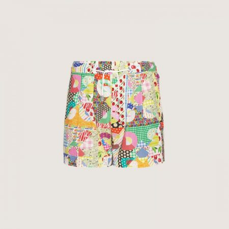 GCDS Boxer Shorts With Patchwork Pattern Multicolor | Intimo Uomo