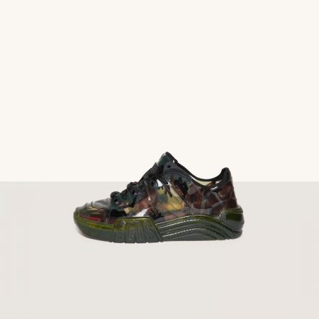 GCDS Skate Sneakers Camouflage Trasparenti Camouflage | Sneakers Donna